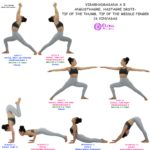 VIRABHADRASANA A AND B
