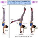 KICK UP TO HANDSTAND WITH ANKLE WEIGHTS