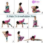 9 STEPS TO GRASSHOPPER POSE