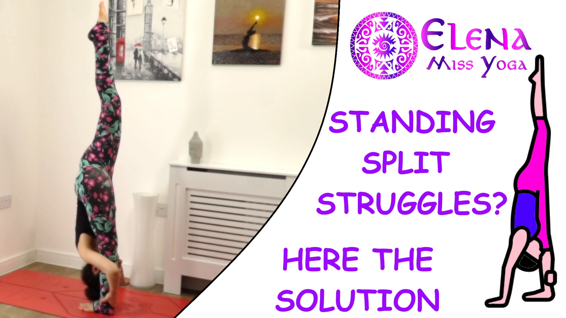 STANDING SPLIT STRUGGLES? HERE THE SOLUTION FOR YOU