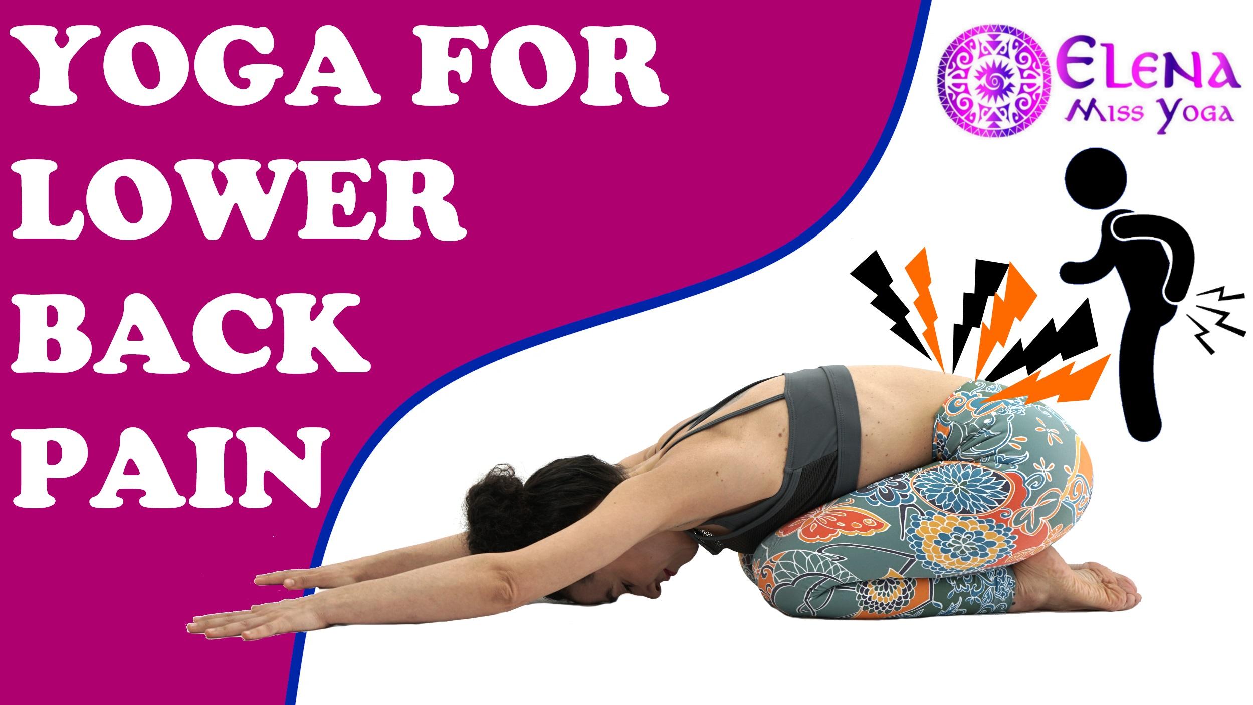 YOGA FOR BACK PAIN - YOGA CLASS