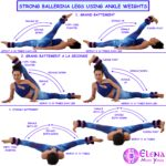 STRONG BALLERINA LEGS USING ANKLE WEIGHTS