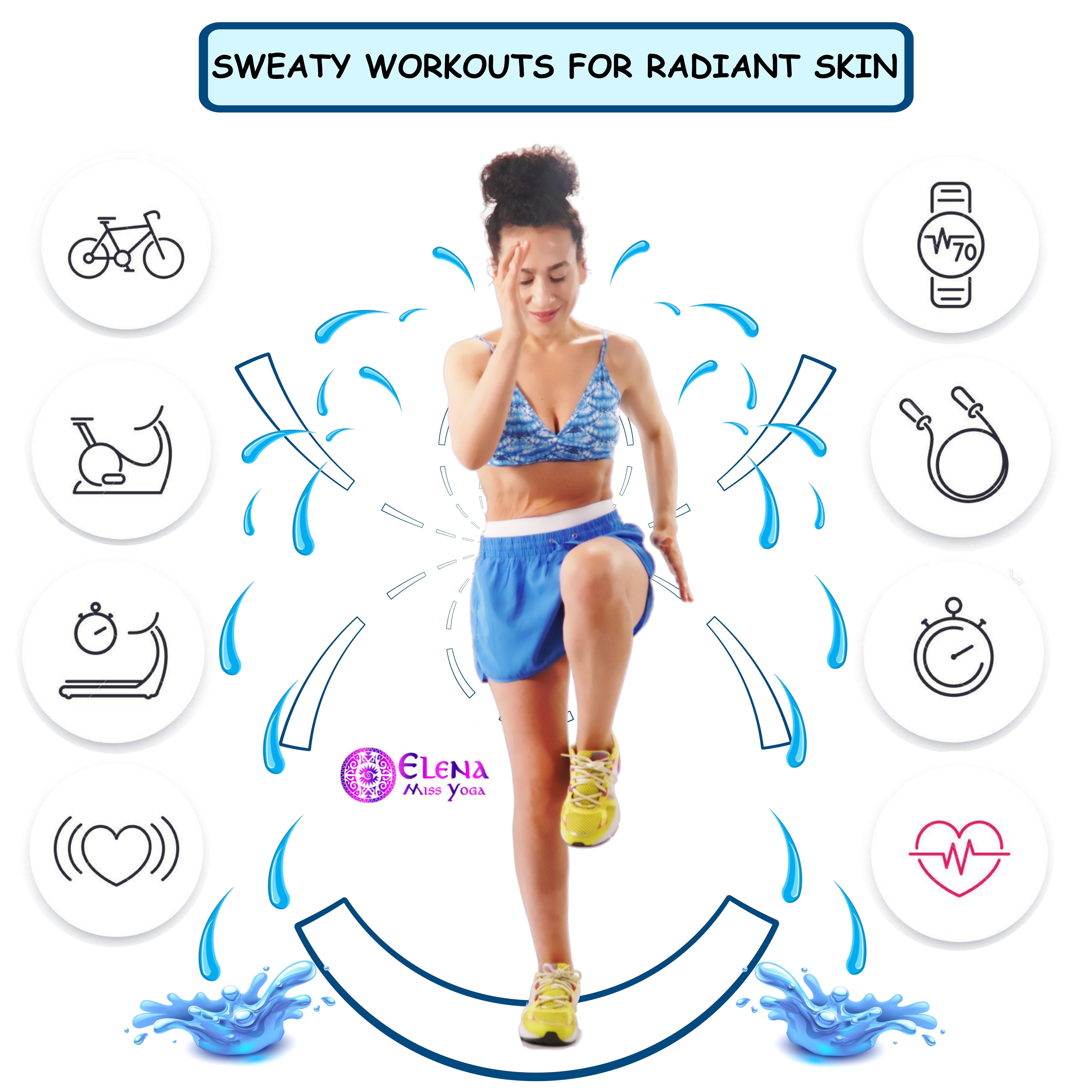 SWEATY WORKOUTS FOR RADIANT SKIN