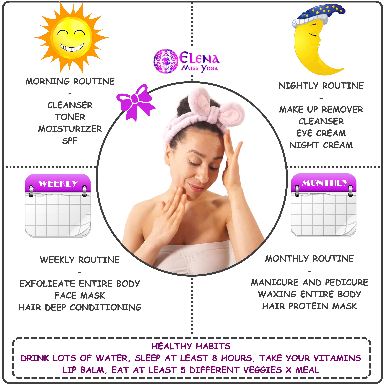 BEAUTY TIPS – Elena Miss Yoga