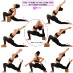 HOW TO WORK AT LOW LUNGE POS WITH DEEP BACKBEND